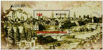 n° 33 - Timbre MACEDOINE Blocs et feuillets (EUROPA)
