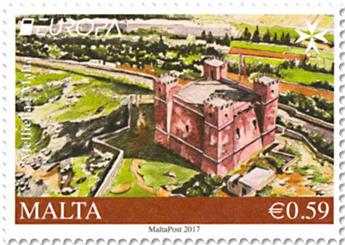 n° 1869/1870 - Timbre MALTE Poste (EUROPA)