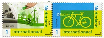 n° 3393/3394 - Timbre PAYS-BAS Poste (EUROPA )