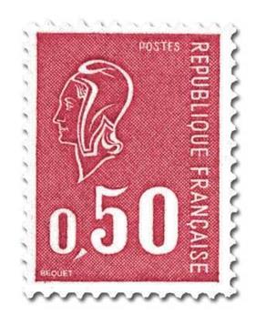 n° 1664a -  Selo França Correios