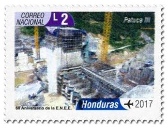 n° 1451/1460 - Timbre HONDURAS Timbres pour poste aérienne