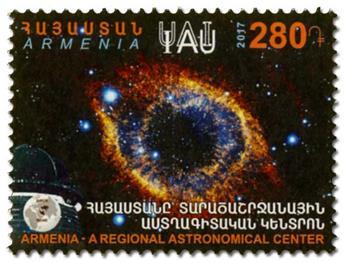 n° 881 - Timbre ARMENIE Poste