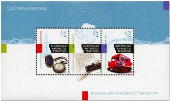 n° 21 - Timbre TERRITOIRE ANTARCTIQUE AUSTRALIEN Blocs et feuillets