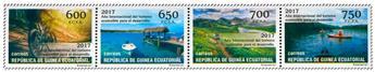 n° 651/654 - Timbre GUINÉE-ÉQUATORIALE Poste