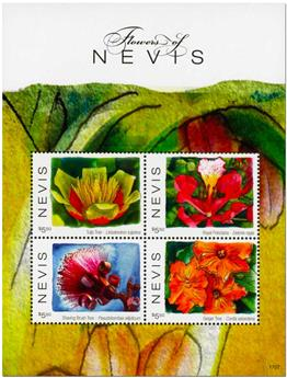 n° 2662/2665 - Timbre NEVIS Poste