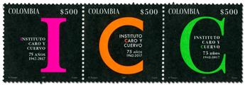 n° 1827/1829 - Timbre COLOMBIE Poste