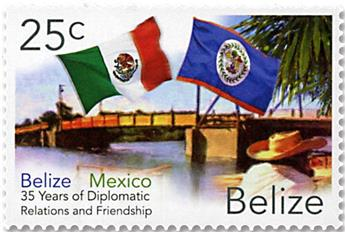 n°1240/1241 - Timbre BELIZE Poste