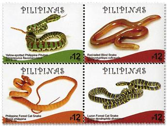 n°4141/4144 - Timbre PHILIPPINES Poste