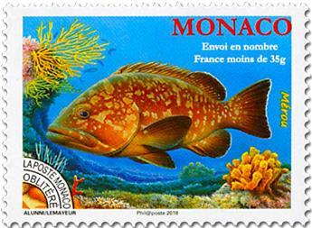 n° 117 - Timbre Monaco Préoblitérés