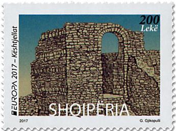 n° 3210 - Timbre ALBANIE Poste (EUROPA)