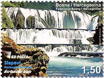 n° 779 - Timbre BOSNIE-HERZEGOVINE Poste