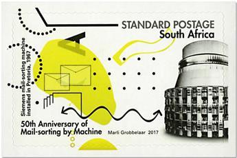 n° 1980/1981 - Timbre AFRIQUE DU SUD Poste