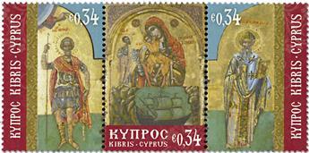 n° 1385/1387 - Timbre CHYPRE Poste