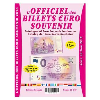 OFFICIEL DES BILLETS €UROS SOUVENIR (3ème Edition - 2018)