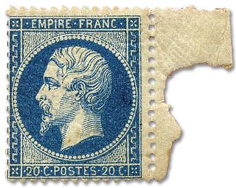 n°22** - Timbre FRANCE Poste