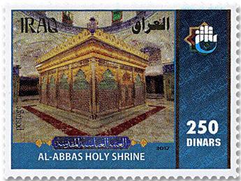 n° 1845/1846 + n° 142 - Timbre IRAK Poste