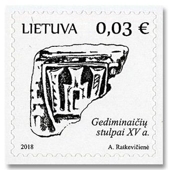 n° 1098/1101 - Timbre LITUANIE Poste