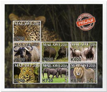 n° 862/868 - Timbre MALAWI Poste