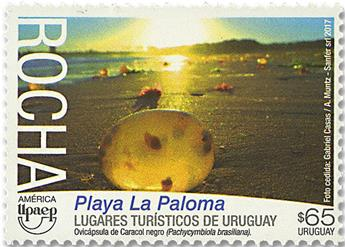 n° 2863 - Timbre URUGUAY Poste