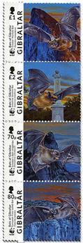 n° 1832/1835 - Timbre GIBRALTAR Poste