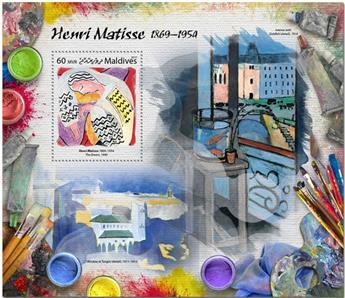 n° 1033 - Timbre MALDIVES Blocs et feuillets