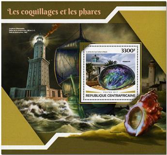 n° 1177 - Timbre CENTRAFRICAINE Blocs et feuillets