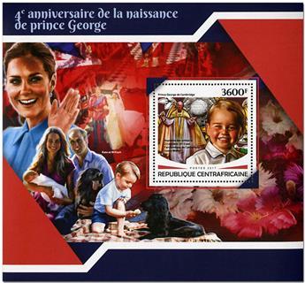 n° 1182 - Timbre CENTRAFRICAINE Blocs et feuillets