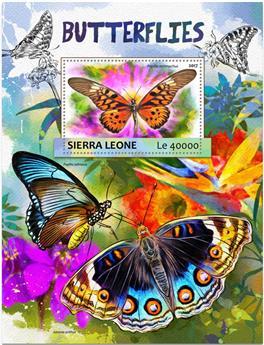 n° 1162 - Timbre SIERRA LEONE Blocs et feuillets