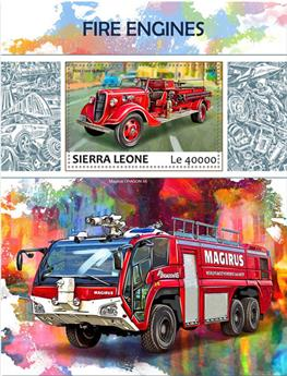 n° 1232 - Timbre SIERRA LEONE Blocs et feuillets