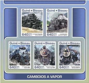 n° 7199/7203 - Timbre GUINÉE-BISSAU Poste