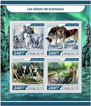 n° 1480/1483 - Timbre DJIBOUTI Poste
