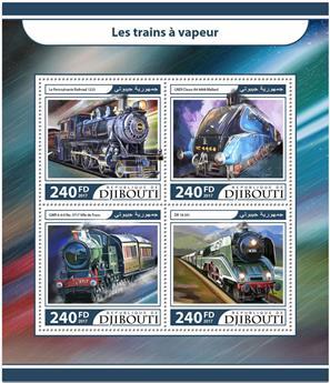 n° 1500/1503 - Timbre DJIBOUTI Poste