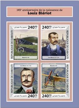 n° 1680/1683 - Timbre DJIBOUTI Poste