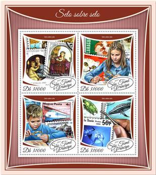 n° 5945/5948 - Timbre SAINT-THOMAS ET PRINCE Poste