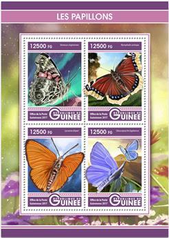 n° 8793/8796 - Timbre GUINÉE Poste