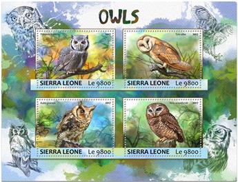 n° 6785/6788 - Timbre SIERRA LEONE Poste