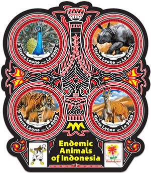 n° 6845/6848 - Timbre SIERRA LEONE Poste