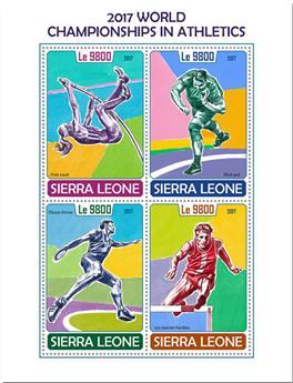 n° 7389/7392 - Timbre SIERRA LEONE Poste