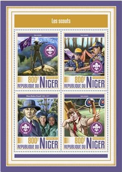 n° 4335/4338 - Timbre NIGER Poste