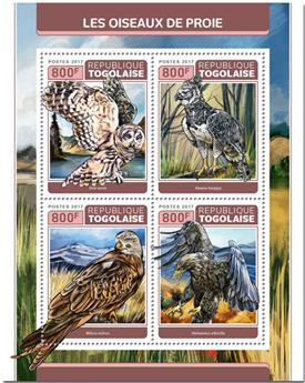 n° 5694/5697 - Timbre TOGO  Poste