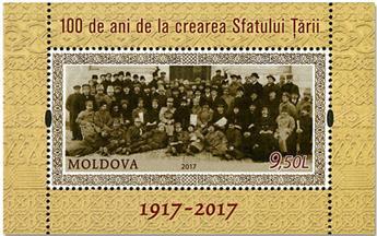 n° 83 - Timbre MOLDAVIE Blocs et feuillets