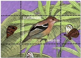 n° 126/137 - Timbre SURINAM Blocs et feuillets