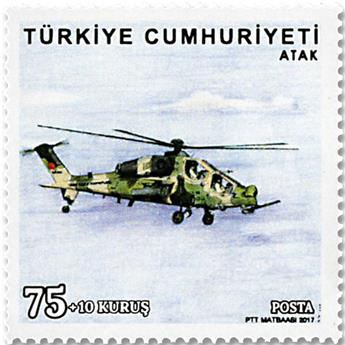 n° 3861/3866 - Timbre TURQUIE Poste