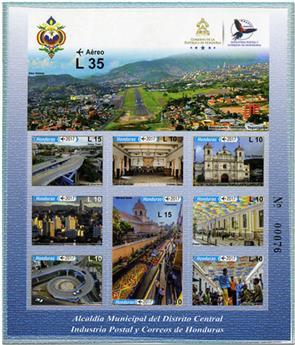 n° 1461/1470 - Timbre HONDURAS Timbres pour poste aérienne
