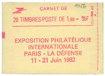 n°2220-C7** - Timbre FRANCE Carnets