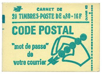 n°1893-C1a** - Timbre FRANCE Carnets