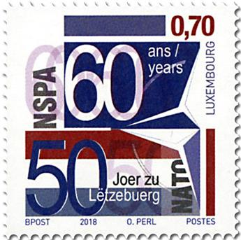 n° 2104 - Timbre LUXEMBOURG Poste