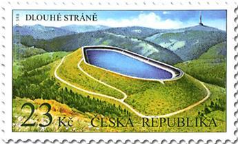 n° 873 - Timbre TCHEQUE (République) Poste