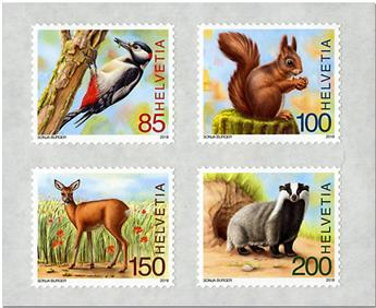 n° 2453/2456 - Timbre SUISSE Poste