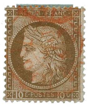 n°54 obl. TB - Timbre FRANCE Poste